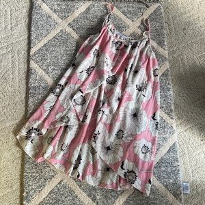 Pink floral dress/tunic